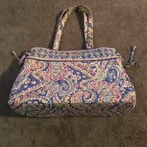 Beautiful Vera Bradley Blue & Purple Bag